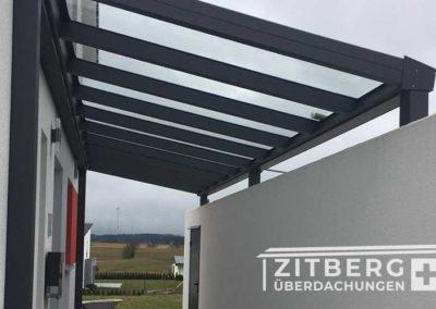 Dach-für-Eingangstür
