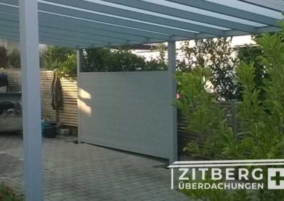 Sichtschutz-Alu-Paneele