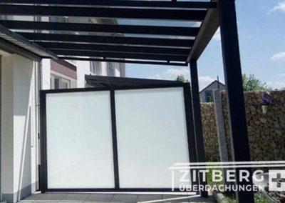 Sichtschutz-mit-Glas-Matt